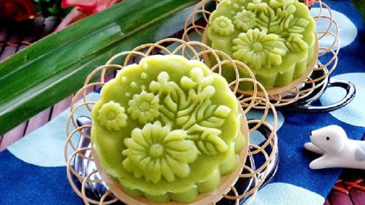 cách làm bánh dẻo đậu xanh lá dứa cho người tiểu đường