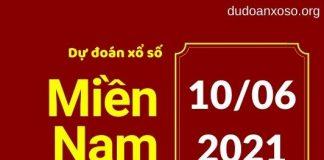 Dự đoán XSMN 10/6/2021