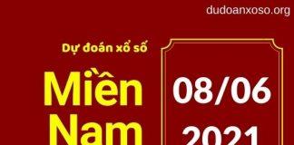 Dự đoán XSMN 8/6/2021