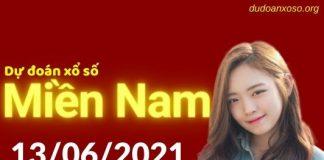 Dự đoán XSMN 13/6/2021