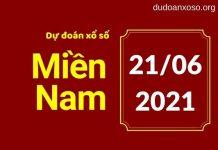 Dự đoán XSMN 21/6/2021