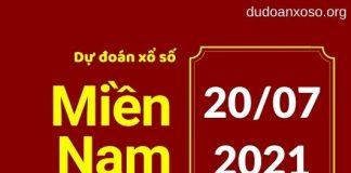 Dự đoán xổ số miền Nam 20/7/2021