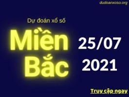 Dự đoán XSMB 25/7/2021