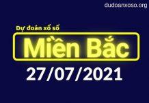 Dự đoán XSMB 27/7/2021