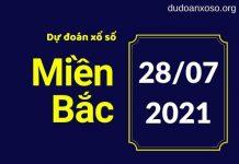 Dự đoán XSMB 28/7/2021