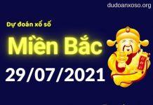 Dự đoán XSMB 29/7/2021