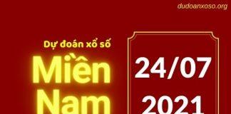 Dự đoán XSMN 24/7/2021