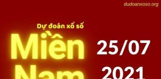 Dự đoán XSMN 25/7/2021