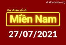 Dự đoán XSMN 27/7/2021