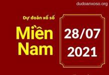 Dự đoán XSMN 28/7/2021