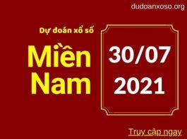 Dự đoán XSMN 30/7/2021