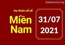 Dự đoán XSMN 31/7/2021