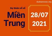 Dự đoán xsmt 28/7/2021