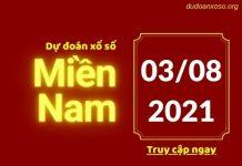 Dự đoán XSMN 3/8/2021
