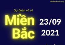 dự đoán xsmb 23/9/2021