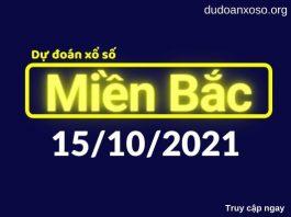 Dự đoán XSMB 15/10/2021