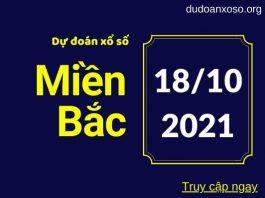 Dự đoán XSMB 18/10/2021