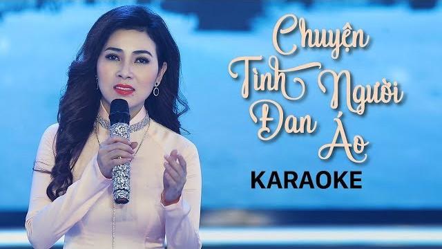 Chuyện Tình Người Đan Áo - Diễm Thùy - Karaoke