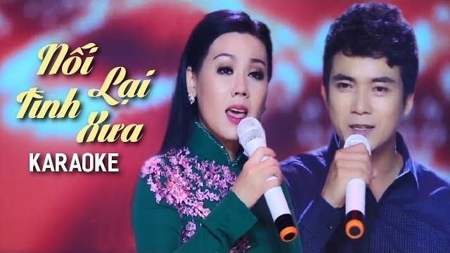 Nối Lại Tình Xưa - Lưu Ánh Loan ft Lê Sang - Karaoke