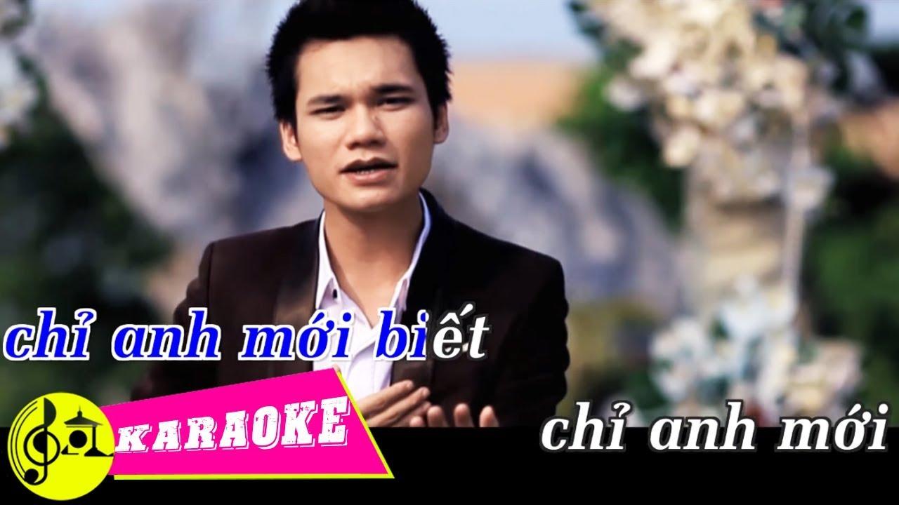 Chỉ Anh Hiểu Em - Khắc Việt – Karaoke