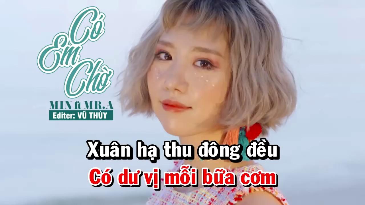 Có Em Chờ - Min ft Mr A - Karaoke