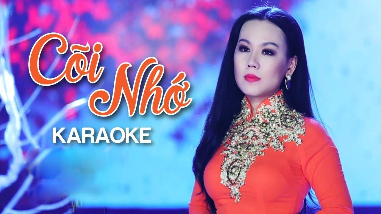 Cõi Nhớ - Lưu Ánh Loan - Karaoke