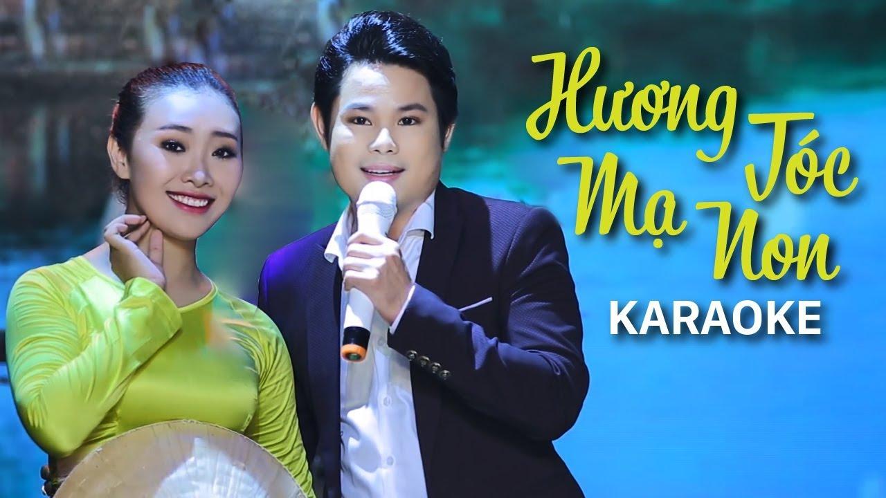Hương Tóc Mạ Non - Bùi Trung Đẳng - Karaoke