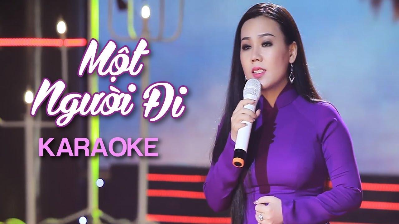 Một Người Đi - Lưu Ánh Loan - Karaoke