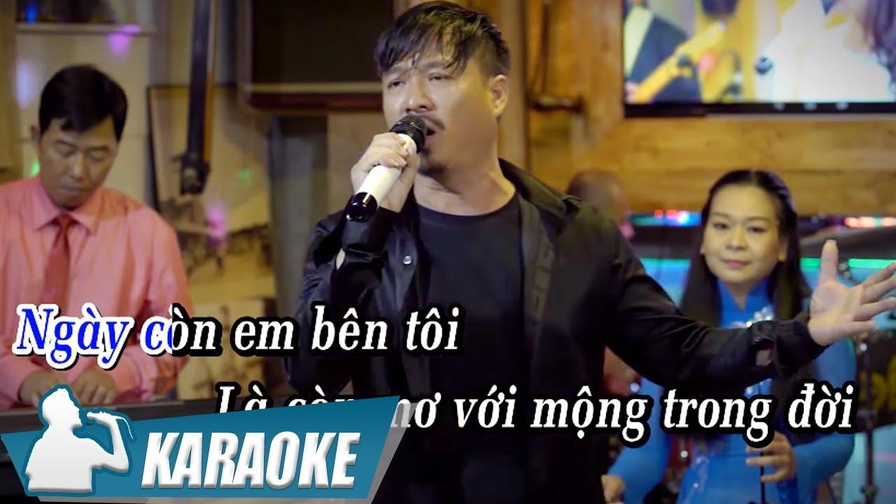 Ngày Còn Em Bên Tôi - Quang Lập - Karaoke