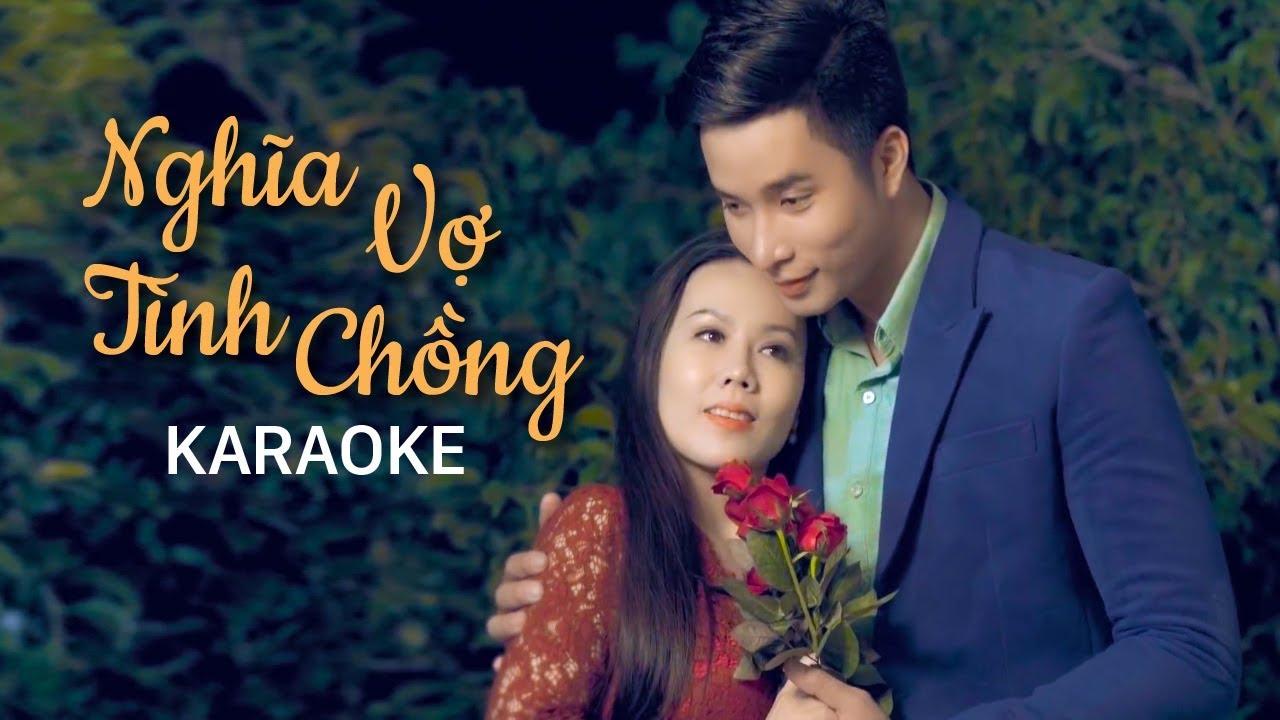 Nghĩa Vợ Tình Chồng - Lưu Ánh Loan - Karaoke