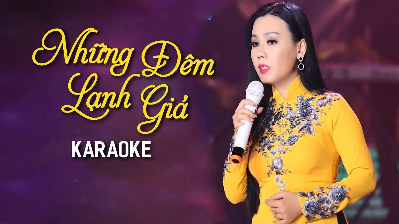 Những Đêm Lạnh Giá - Lưu Ánh Loan - Karaoke