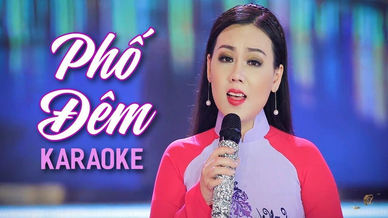 Phố Đêm - Lưu Ánh Loan - Karaoke