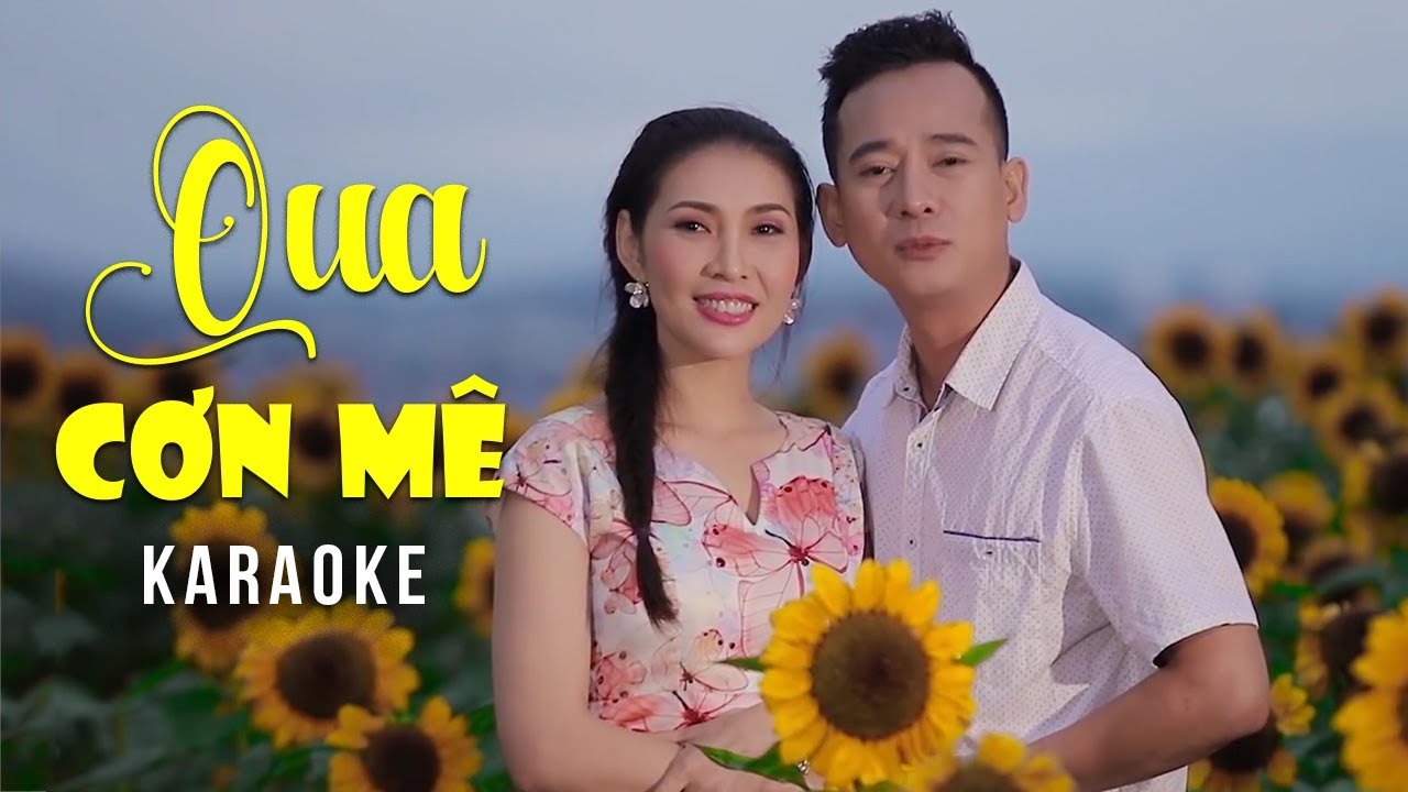 Qua Cơn Mê - Mai Lệ Quyên ft Đoàn Minh - Karaoke