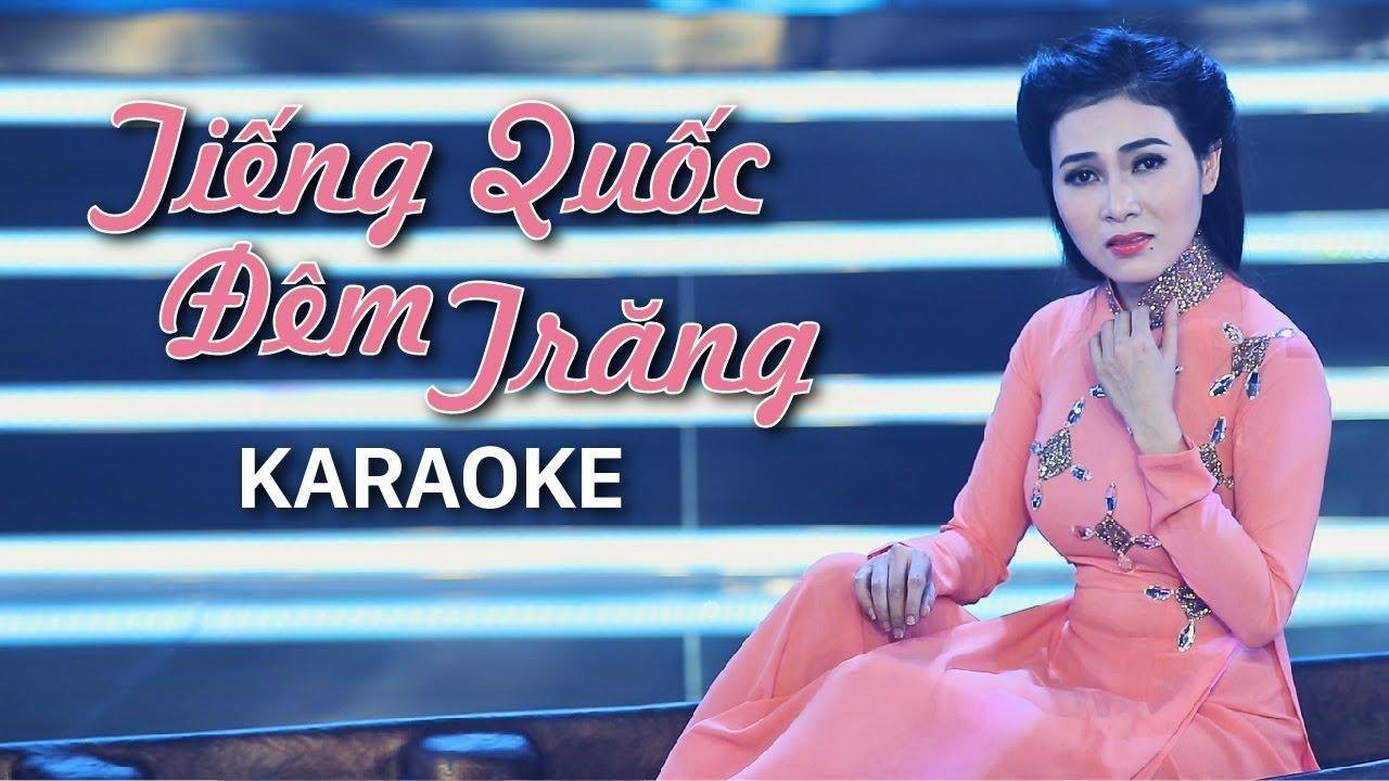 Tiếng Quốc Đêm Trăng - Diễm Thùy - Karaoke