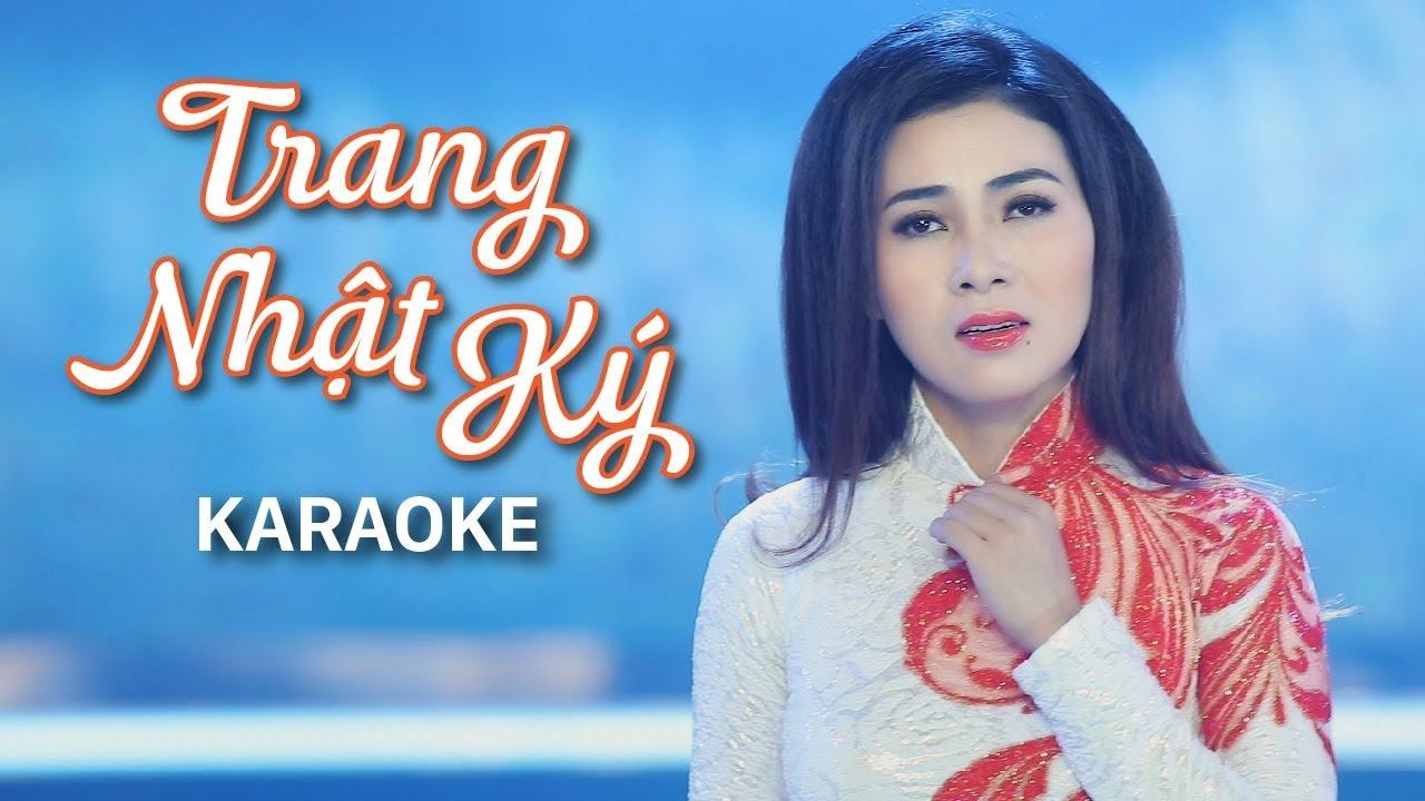 Trang Nhật Ký - Diễm Thùy - Karaoke