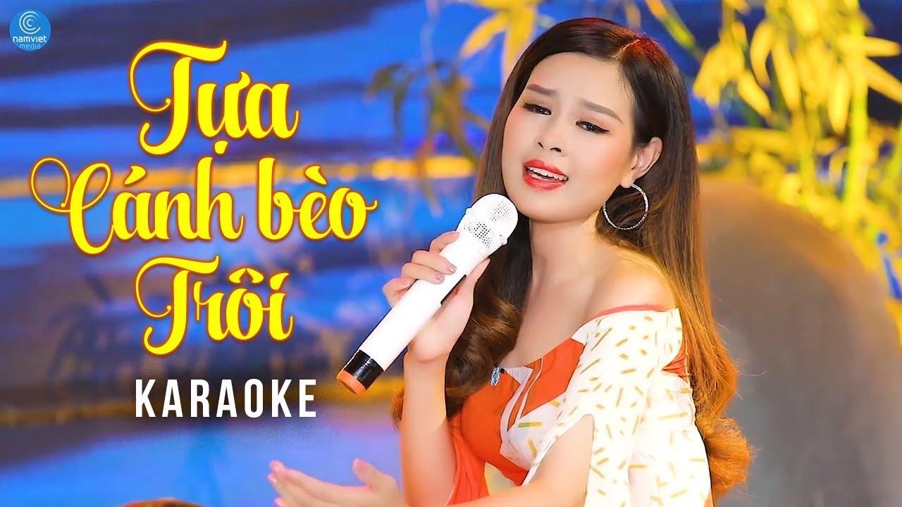Tựa Cánh Bèo Trôi - Châu Giang - Karaoke