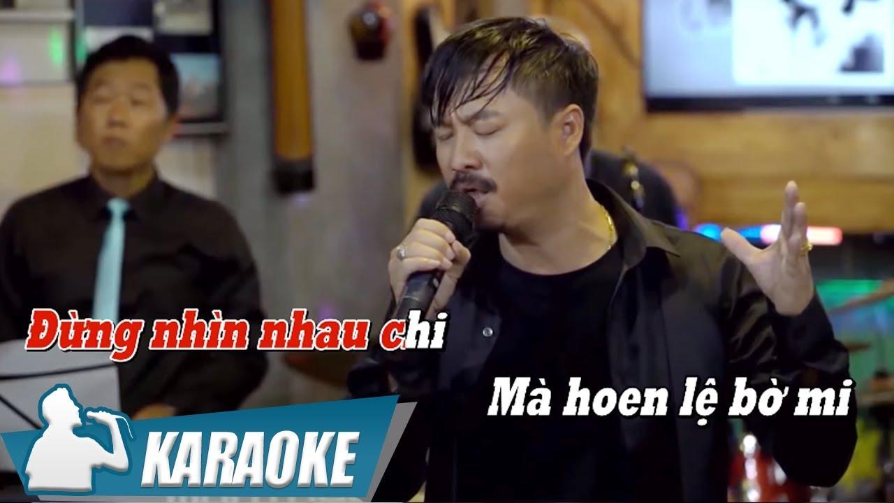 Xin Em Đừng Khóc Vu Quy - Quang Lập - Karaoke