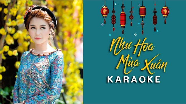 Như Hoa Mùa Xuân - Minh Hằng - Karaoke