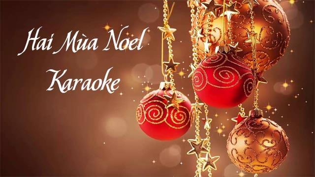 Hai Mùa Noel - Đàm Vĩnh Hưng - Karaoke