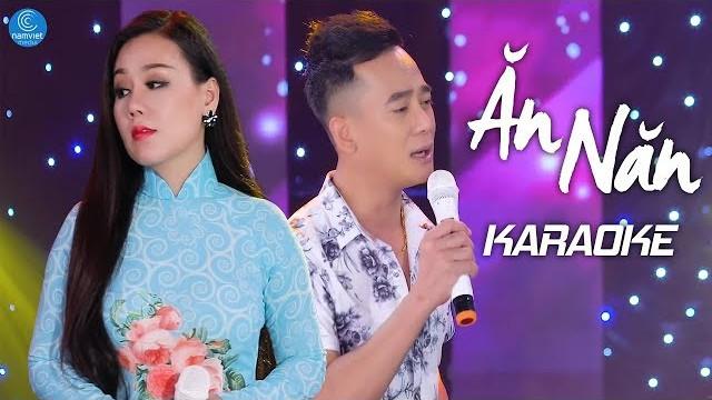 Ăn Năn - Lưu Ánh Loan ft Đoàn Minh - Karaoke