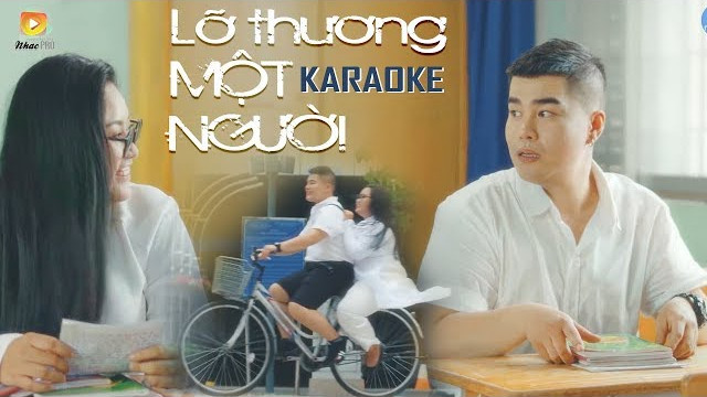 Lỡ Thương Một Người - Nguyễn Đình Vũ - Karaoke