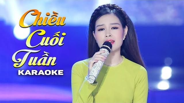 Chiều Cuối Tuần - Châu Giang - Karaoke