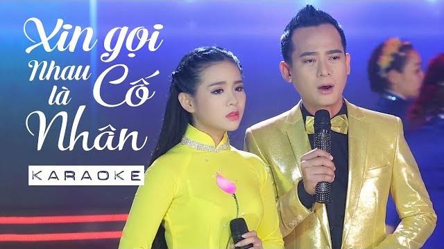 Xin Gọi Nhau Là Cố Nhân - Quỳnh Trang ft Đoàn Minh - Karaoke