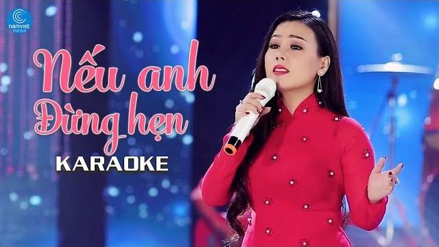 Nếu Anh Đừng Hẹn - Lưu Ánh Loan - Karaoke