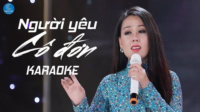 Người Yêu Cô Đơn - Lưu Ánh Loan - Karaoke