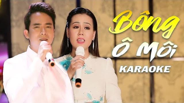 Bông Ô Môi - Lưu Ánh Loan ft Lê Sang - Karaoke