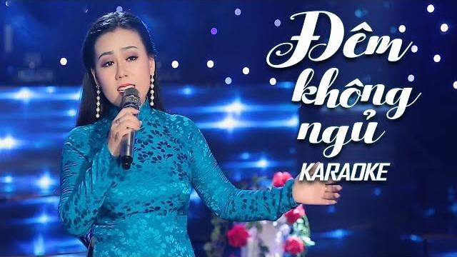 Đêm Không Ngủ - Lưu Ánh Loan - Karaoke