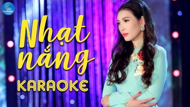 Nhạt Nắng - Mai Lệ Quyên - Karaoke