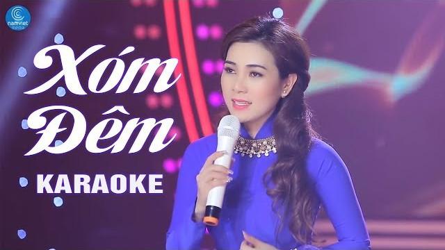 Xóm Đêm - Diễm Thùy - Karaoke