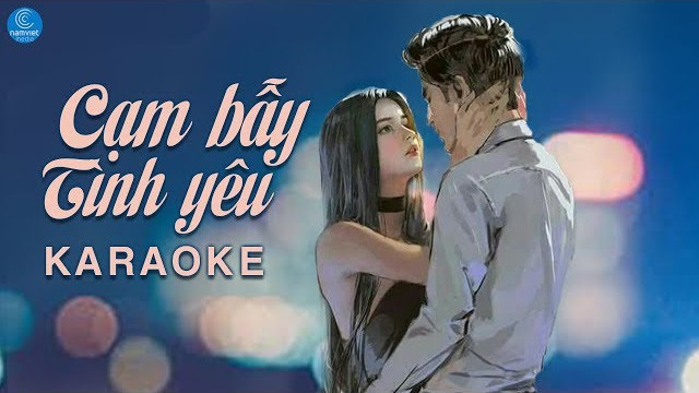 Cạm Bẫy Tình Yêu - Phan Đình Tùng - Karaoke
